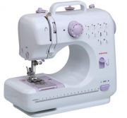 Ergode Electric Household Sewing Machine With Pedal LED Light 12 Built In Stitch Pattens
