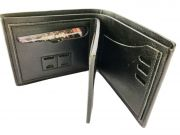 Kash Genuine Leather Wallet ID Pouch Black (code - Glblid)