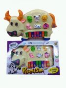 Funny Cow Shape Piano Toy For Kids