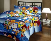 Kids Cartoon Blanket Super Quality Single Bed Blanket Reversible