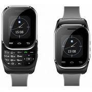 Kenxinda W1 Dual Sim Watch Mobile Red & Black