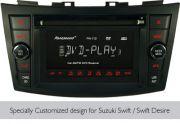 Panasound PN110 Car 2- DIN DVD Player With AM/FM