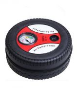 Tire Shape Air Compressor Tyre Inflator Mini Car Air Compressor