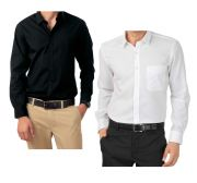 Pack Of 2 Formal Shirts