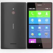 Nokia XL - Black Mobile