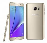 NEW LAUNCH IMPORTED Samsung Galaxy Note5 32GB 4GB 16MP Android OS, V5.1.1 Gold