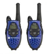 MOTOROLA 8 KMs  WALKIE TALKIE  WITH BATTERY & CHARGER