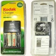 2100 Kodak 4 AA / Aaa Pencil Cells Battery Charger