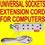 Computer & Laptop Power Plugs Cords Organiser