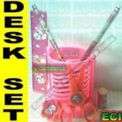 7in1 Desk-set With Cute Pen Stand