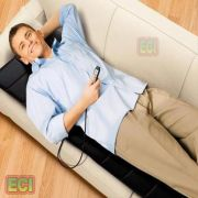 Electric Massage Mat, Full Body Massager Bed Mattress, Heat & Vibration