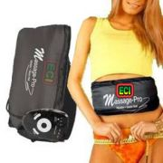 ECI Original Massage Pro Fat Burn Belt Weight Loss By Vibration, Sauna Heat