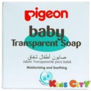 Pigeon Baby Transparent Soap (hypoallergenic) - 80g