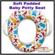 Baby Training Soft Padded Potty Seat Potty Chair