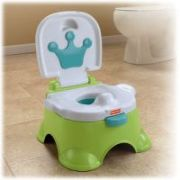 Fisher Price Royal Step Stool Potty