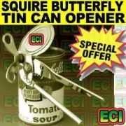 Squire Butterfly Can Opener Tin Cutter Open Bottle