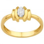 Avsar Real Gold And Diamond Poonam Ring ( Code - Avr026na )
