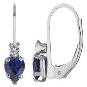 Kiara Sterling Silver Earring Made With Swarovski Zirconia VAE011