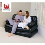 Stylish And Beautiful Air Lounge Inflatable Sofa Cum Bed