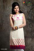 Femi Extremely Pretty Pure Cotton Kurti / Kurta