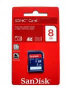 Sandisk 8GB SD/SDHC Memory Card Class4 For Camera And Computers