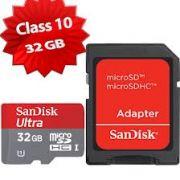 Sandisk 32GB Ultra Micro SDHC Memory Card Class10