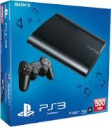 Sony PS3 500GB Gaming Console with 3 Games Free Playstation