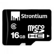 Combo Of 2 Strontium 16 GB Micro SD Memory Card Class 6