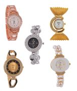 Dazzle Watches Collection For Women Combo Set Of 5