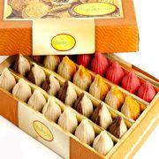 Sweets-ghasitaram's Sugarfree Pure Kaju Assorted Modaks