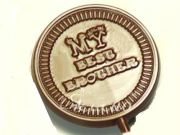 Set Of 8 Best Brother Chocolate Lollies