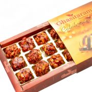 Lohri Sweets-caramalised Almond Delight 18 PCs