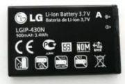 LG Mobile Battery Lgip-430n For Mn240 Gu295 Lx290 Gs390 Gu292 Winx370