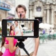Monopod Extendable Arm For Selfies With Universal Mobile Holder