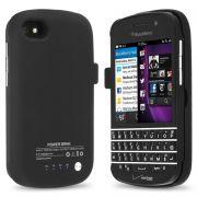 Blackberry Q10 2800mAh External Battery Back Up Shell Cover Case