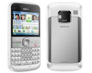 Nokia E5-00 Mobile Phone Body (White)(Housing Only)