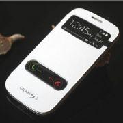 Samsung Galaxy S3 I9300 S View Flip Cover Case (White)