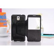 Samsung Galaxy Note 3 N9000 Premium S View Flip Cover Case
