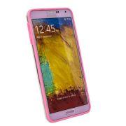Samsung Galaxy Note 3 N9000 Premium Backless Bumper Case (Pink)