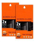 Ultra HD 0.2mm Screen Protector Scratch Guard For LG L Bello D331 (Set Of 2)