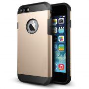Hi Grade Golden Tough Armor Case For Apple IPhone 5S