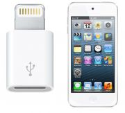 Apple IPod Touch 5th Gen Lightning To Micro USB V8 Adapter