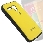 RUBBERIZED SOFT Back Case Cover Pouch For Motorola Moto G - BMT03
