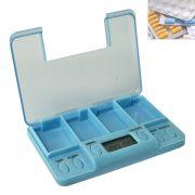 Multi-Alarm Timer Pills Tablet Reminder Timer Medicine Case Box Holder - 01
