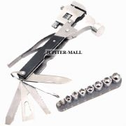 Multi Pliers Army Swiss Knife Hammer Hand Camping Outdoor Tool SPANNERS -05