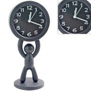 Exclusive Fashionable Table Desk Clock Watches With Alarm - 120