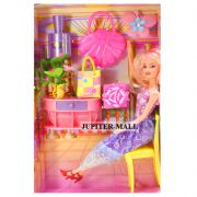 Barbie Doll Set With Beautiful Trendy Dresses Kids Toys Toy Baby Gift -47