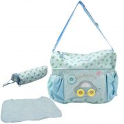 Baby Diaper Womens Travel Multi Utility Embroidery Jumbo Diaper Bag - 94