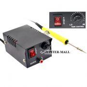 12W Temperature Control Soldering Station Iron Tool Solder Welding - 03