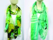 Passigatti Silk Scarf With Allover Pattern Set Of 2